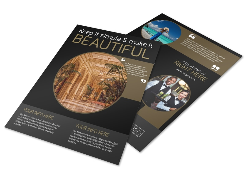 Five Star Luxury Hotels Brochure Template | Mycreativeshop
