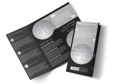 Generic Tri-Fold Brochure Template 11084
