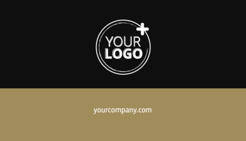 Five Star Luxury Hotels Business Card Template Preview 3