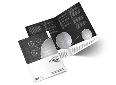 Generic Bi-Fold Brochure Template 11087