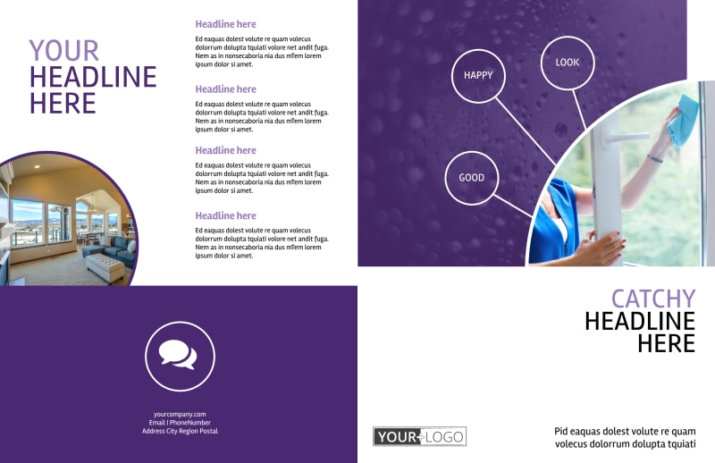 Window Cleaning Service Brochure Template Preview 2