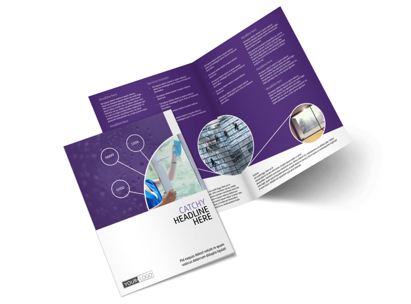 Window Cleaning Service Brochure Template Preview 1
