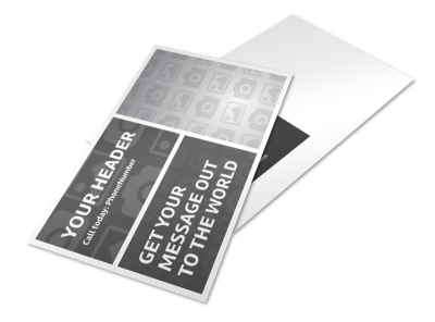 Generic Postcard Template 11088 preview