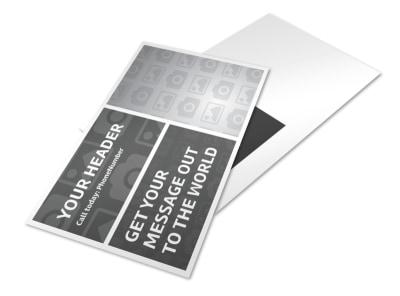Generic Postcard Template 11088