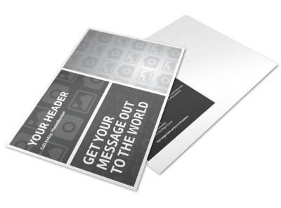 Generic Postcard Template 11090