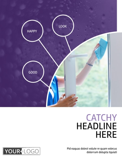 Window Cleaning Service Flyer Template Preview 1