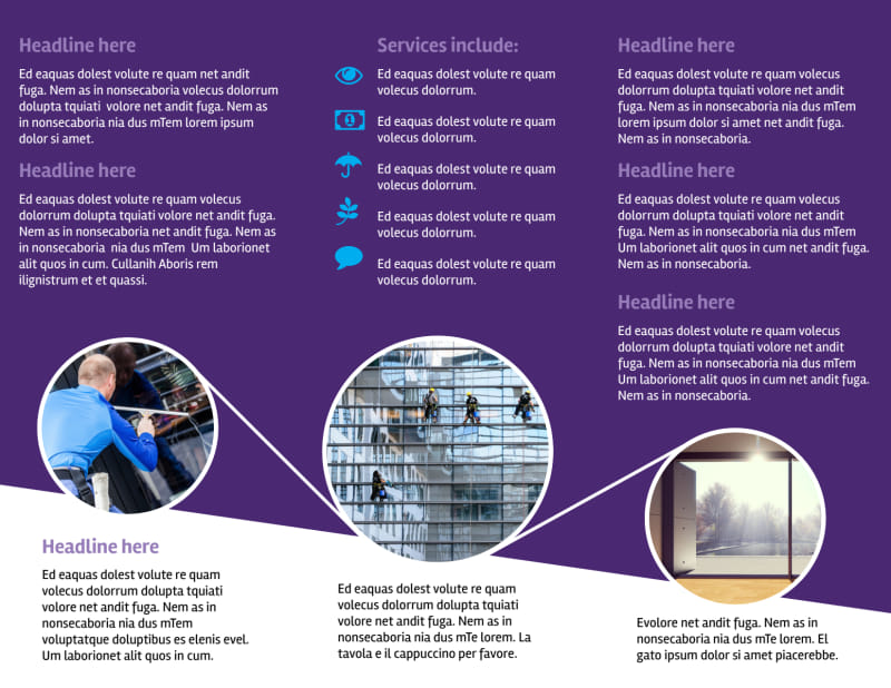 Window Cleaning Service Brochure Template Preview 3