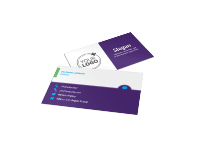 Window Cleaning Business Cards Template Preview