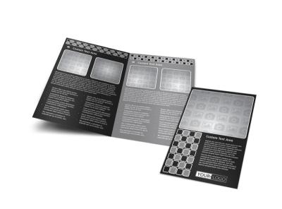Generic Bi-Fold Brochure Template 11100 preview
