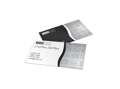 Generic Business Card Template 11104