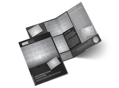 Generic Bi-Fold Brochure Template 11105 preview