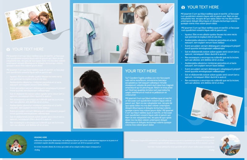 Family Chiropractic Clinic Brochure Template Preview 3