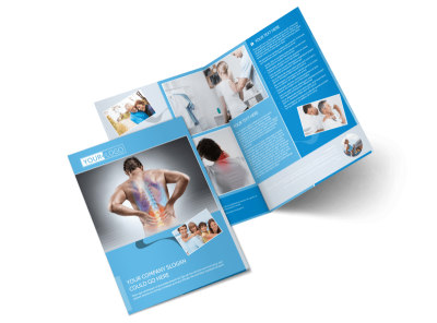 Family Chiropractic Clinic Bi-Fold Brochure Template 2 preview