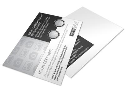 Generic Postcard Template 11106 preview