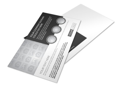 Generic Postcard Template 11108 preview