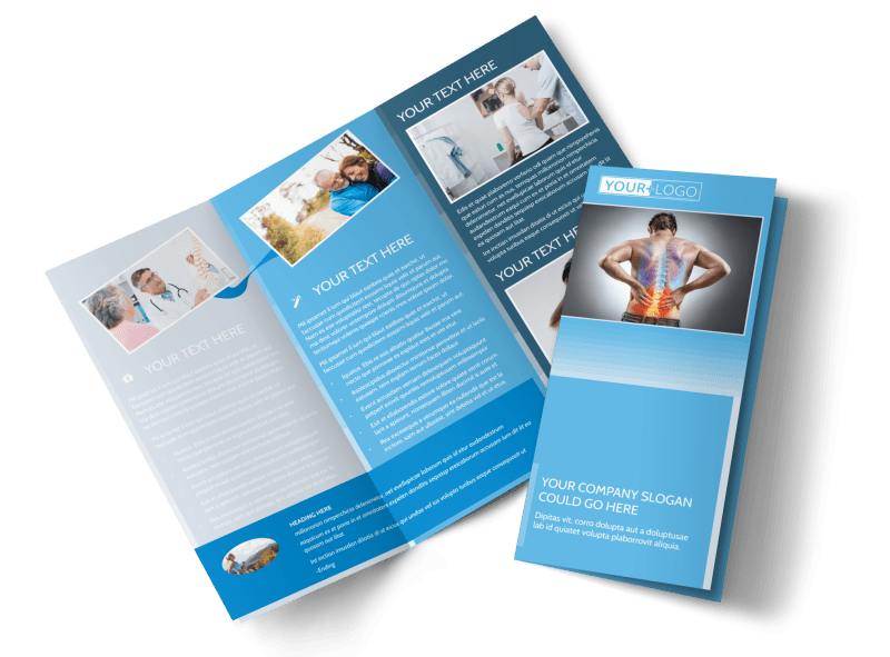 Family Chiropractic Clinic Brochure Template Preview 1