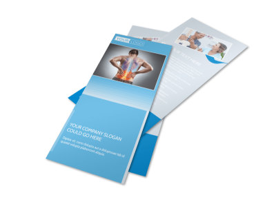 Family Chiropractic Clinic Flyer Template 2