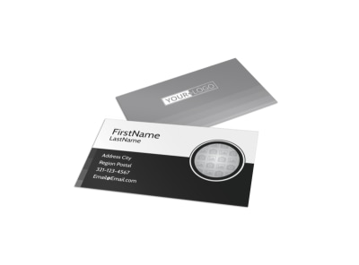 Generic Business Card Template 11113