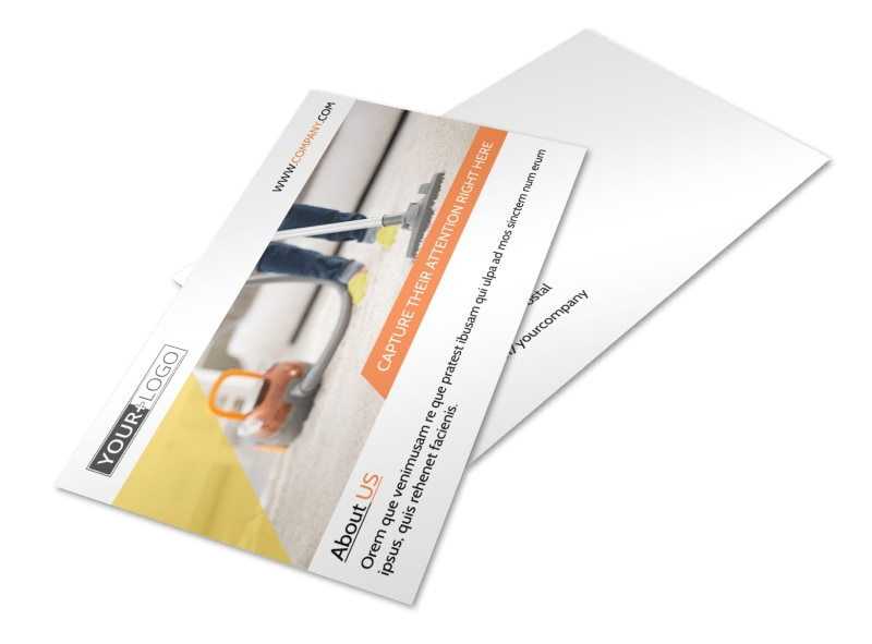 General Cleaning Services Postcard Template 2