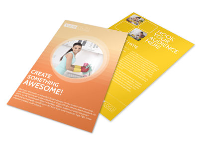General Cleaning Services Flyer Template 3