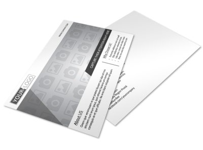 Generic Postcard Template 11117 preview