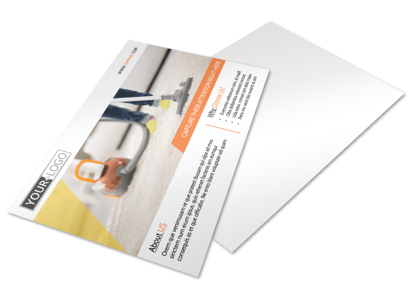 General Cleaning Services Postcard Template Preview 1