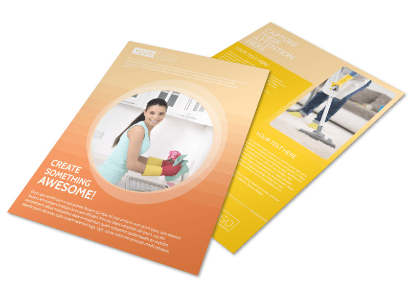 General Cleaning Services Flyer Template Preview 4