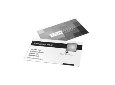 Generic Business Card Template 11122