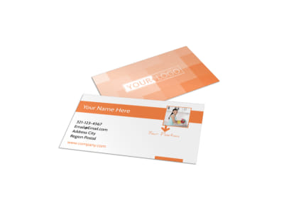 General Cleaning Services Business Card Template preview