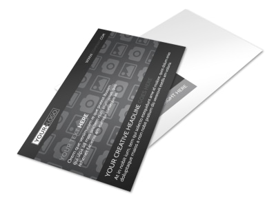 Generic Postcard Template 11124 preview