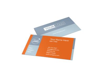 Fun Holiday Party Service Business Card Template