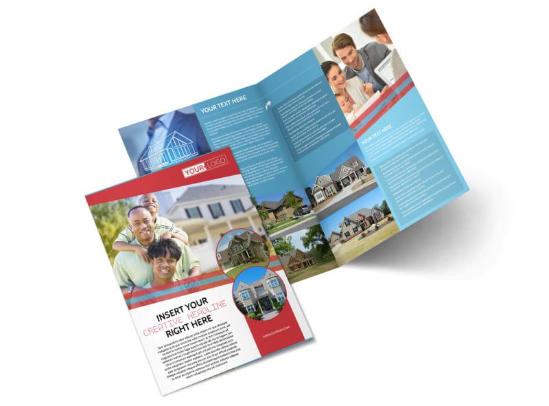 Elite Real Estate Bi-Fold Brochure Template 2