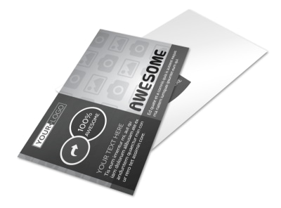 Generic Postcard Template 11133 preview