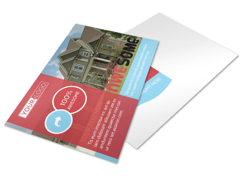 Elite Real Estate Postcard Template 2