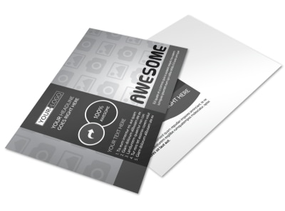 Generic Postcard Template 11135 preview