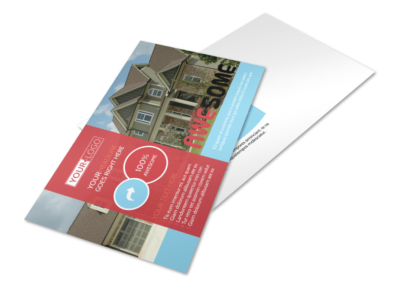 Elite Real Estate Postcard Template