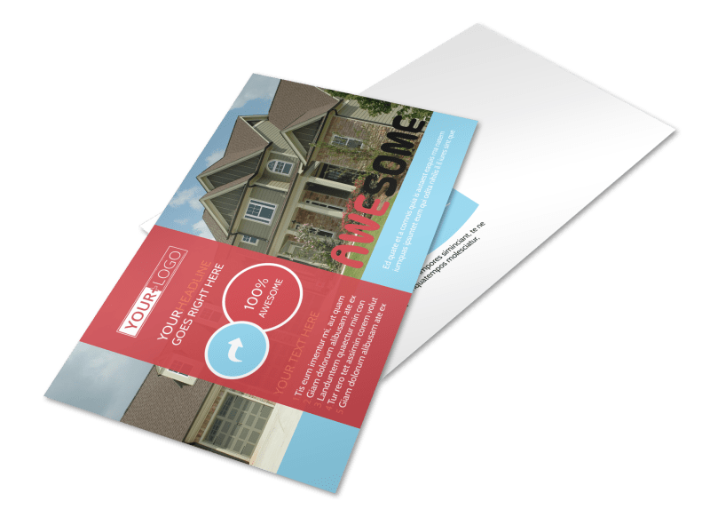 Elite Real Estate Postcard Template Preview 1