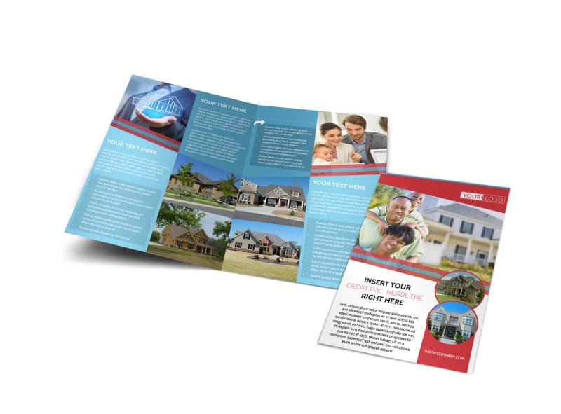 Elite Real Estate Bi-Fold Brochure Template