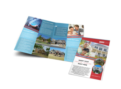 Elite Real Estate Bi-Fold Brochure Template