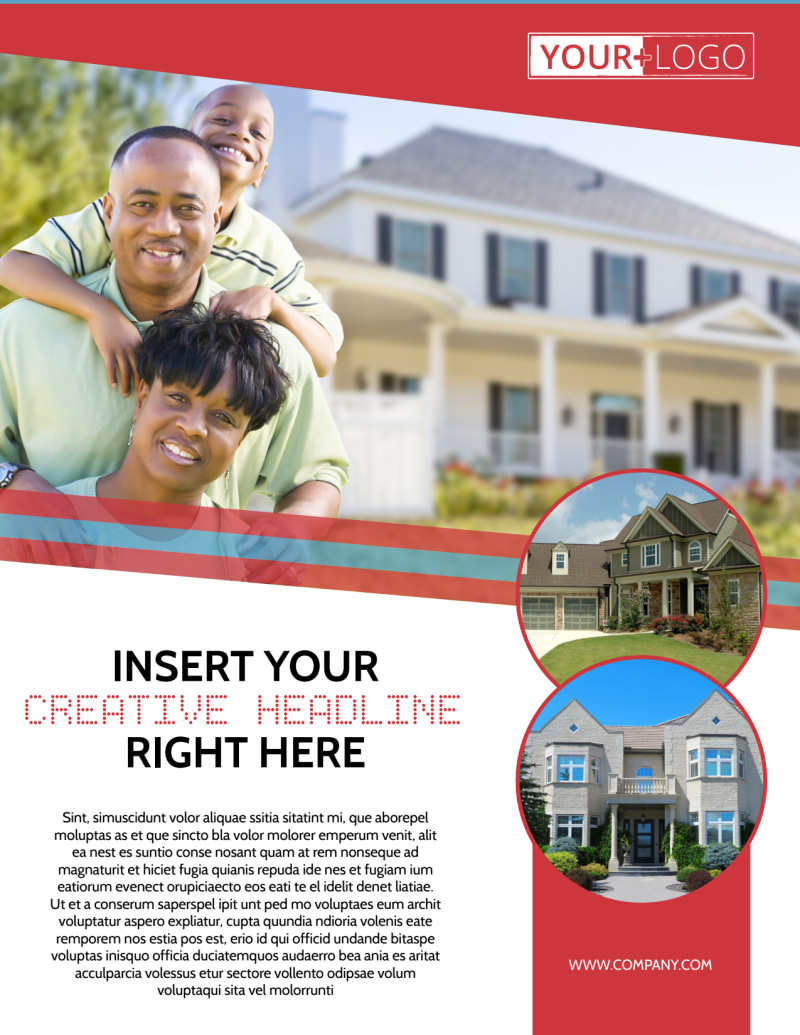 Elite Real Estate Flyer Template Preview 2