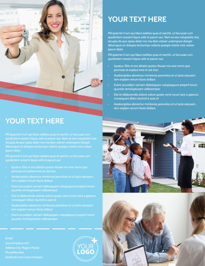 Elite Real Estate Flyer Template Preview 3