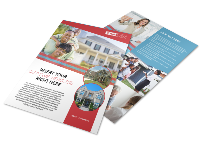 Elite Real Estate Flyer Template Preview 1