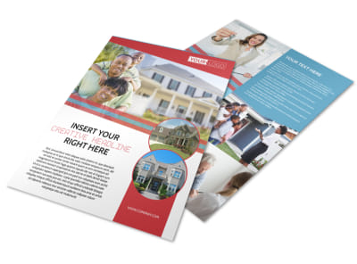 Elite Real Estate Flyer Template