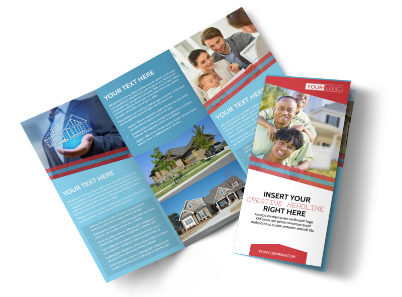 Elite Real Estate Tri-Fold Brochure Template