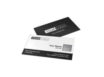 Generic Business Card Template 11140 preview