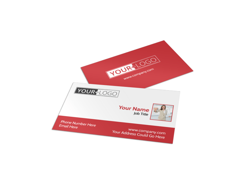 Elite Real Estate Business Card Template Preview 1