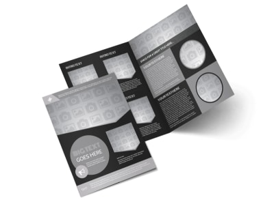 Generic Bi-Fold Brochure Template 11152