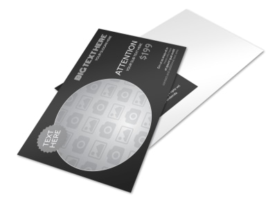 Generic Postcard Template 11153 preview