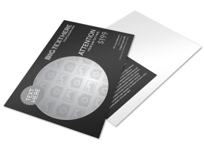Generic Postcard Template 11155 preview