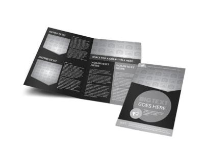 Generic Bi-Fold Brochure Template 11156